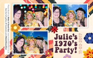 1970s party Make It Stand Out