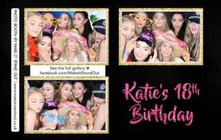 Katie's 18th Birthday, Barton Grange Hotel