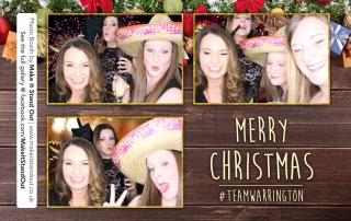 Debenhams Christmas Party, Photo Booth