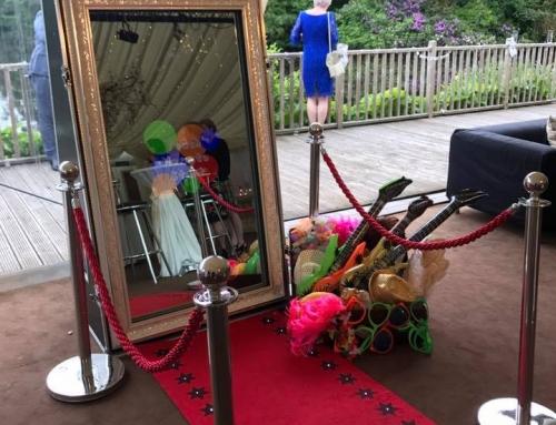 Magic Mirror at Lakeside Marquee, Thornton Manor