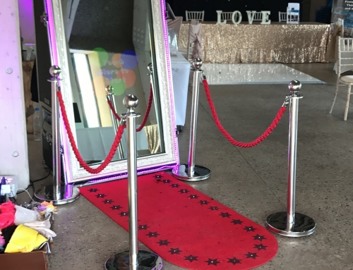 Brockholes Wedding Fayre with our Magic Mirror