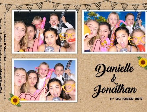Danielle and Jonathan, Mitton Hall – MR&MRS, LOVE, VW Photo Booth
