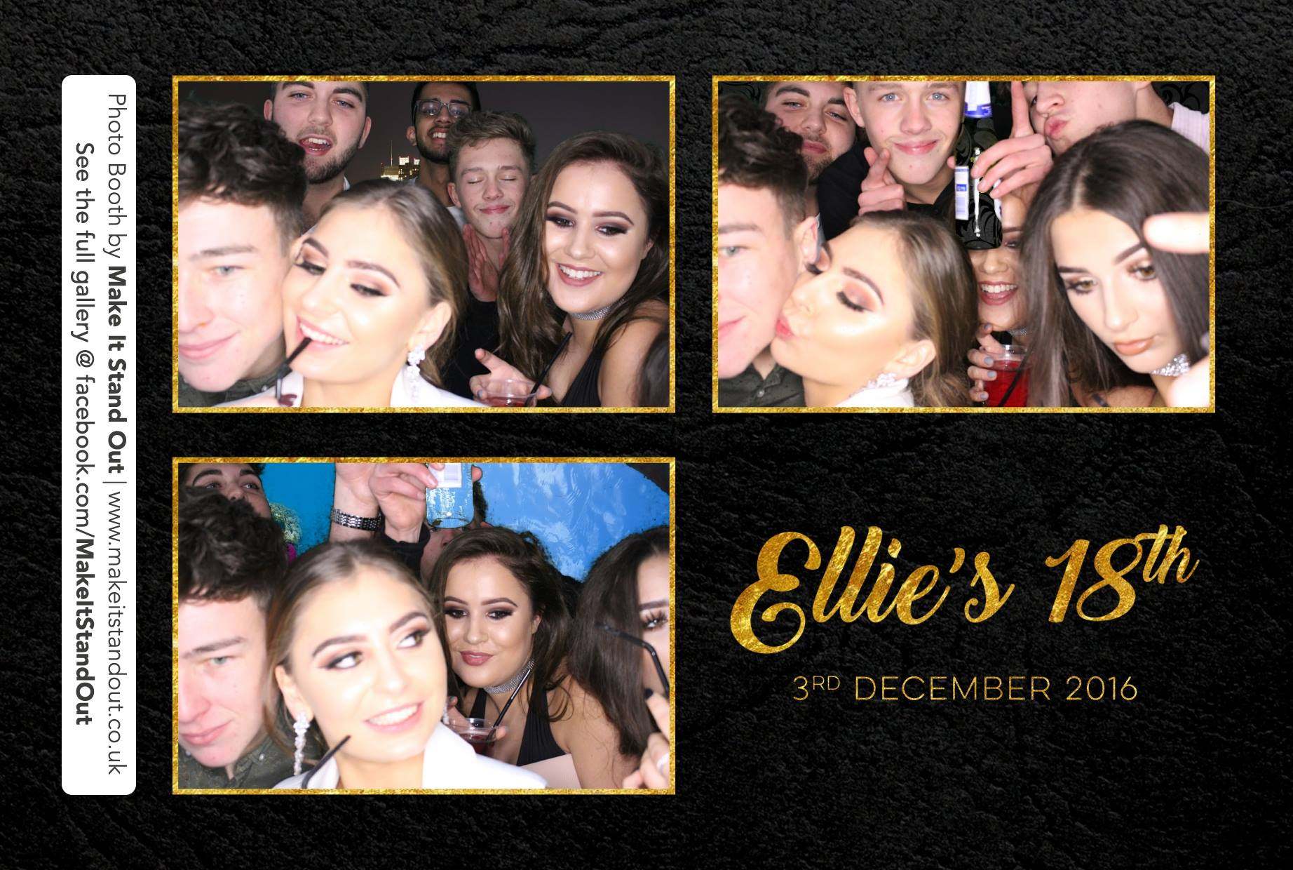 View larger image ellies 18th birthday photo booth