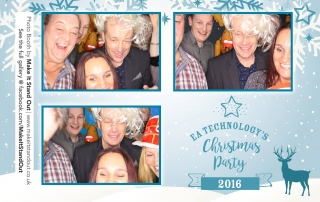 EA Technology's Christmas Party, Photo Booth