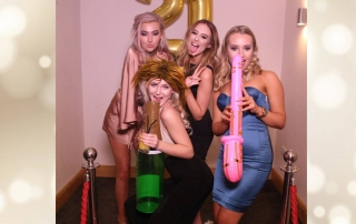 Megan's 21st, Charnock Farm, Magic Mirror