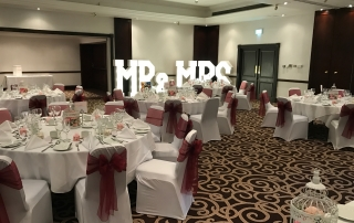 led letters mercure haydock