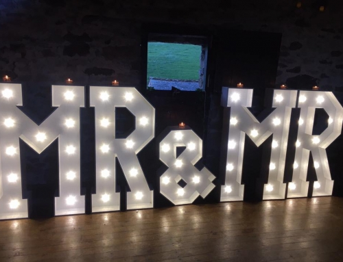Knipe Hall LED Letters MR & MR